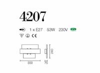 PLAFONIERE SILVEN LIGHT 4207